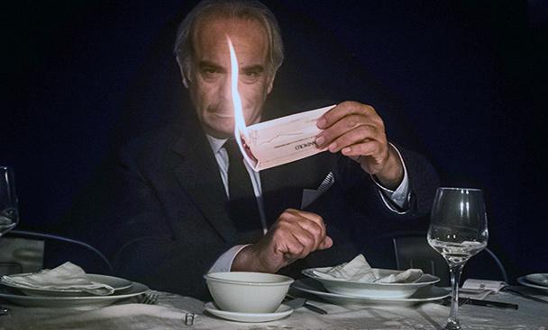 La Cena al Vittorio Emanuele, regia di Manfrè