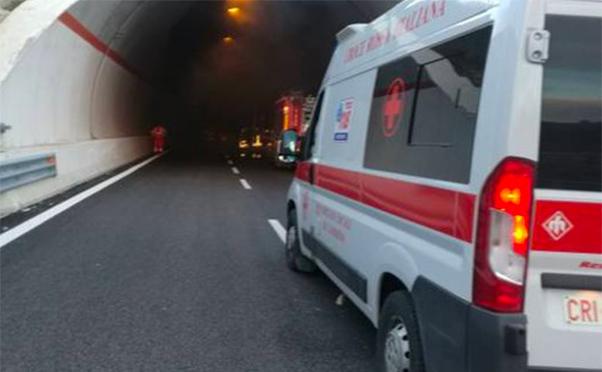 Impatto mortale sulla A18