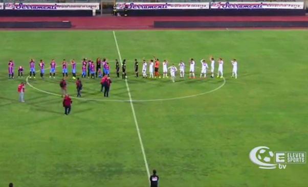 Catania-Potenza 1-1, etnei passano il turno.