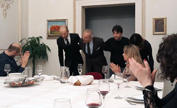 La Cena è servita al Vittorio Emanuele