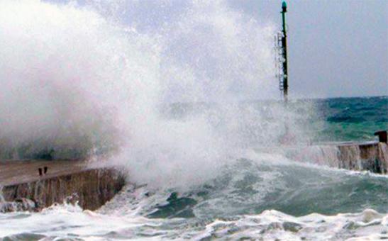 Pioggia e forte vento in Sicilia