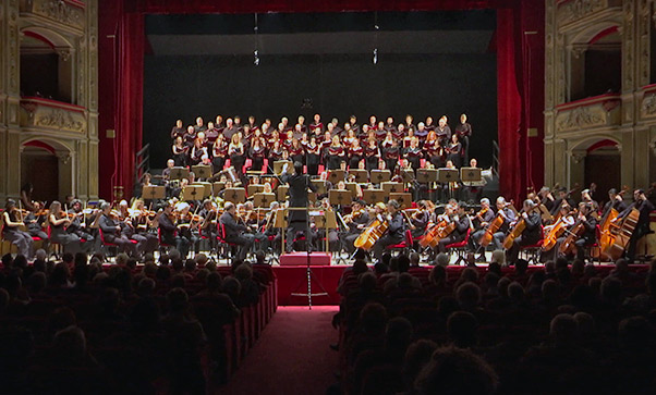 Concerto e applausi al Bellini - Interviste