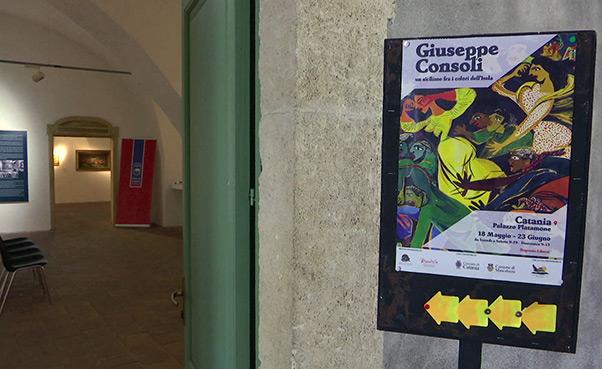 Personale di Consoli a Catania - Interviste