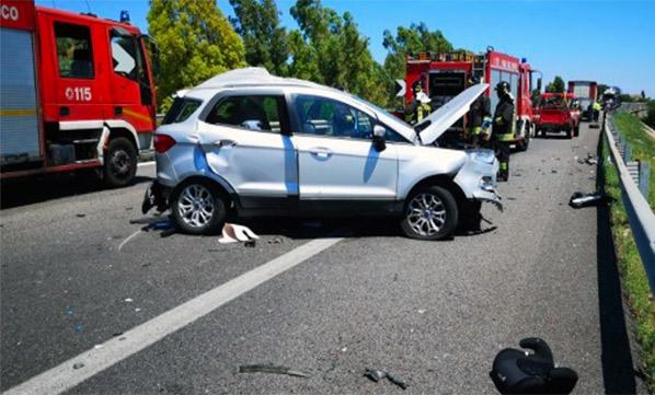Incidente mortale sulla Ct-Pa, 2 morti