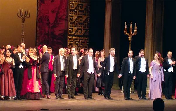 Vittorio Emanuele, applausi per La Vedova allegra