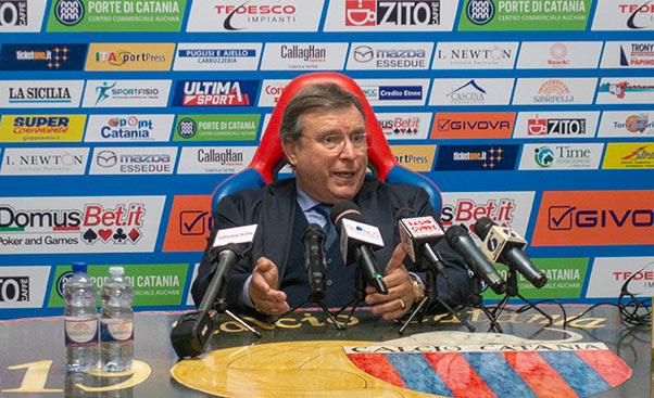 Calcio Catania: gratitudine ai tifosi