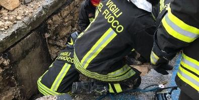 Incidente in cantiere a Catania, 2 feriti