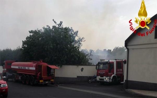 Vento Caldo e incendi in Sicilia