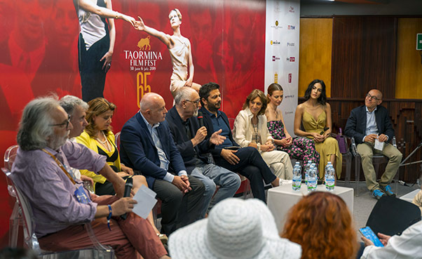 Apre Taormina Film Festival 2019 - Interviste
