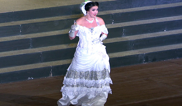 Traviata di Verdi al teatro antico di Taormina