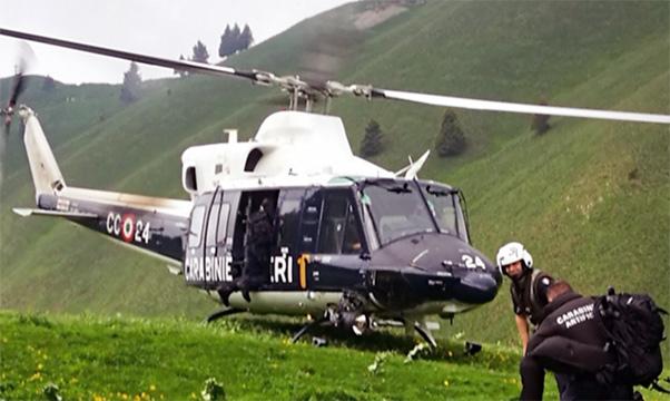 Elicottero trova scout smarriti