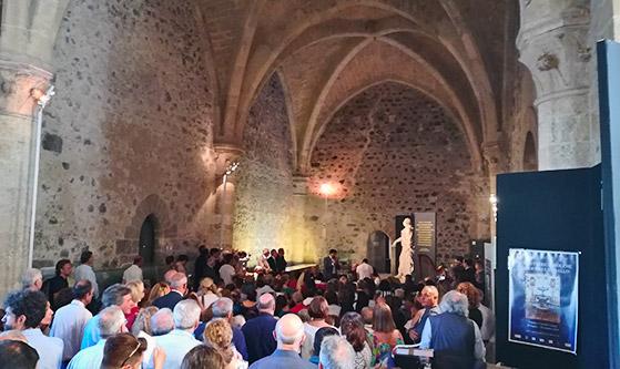 Paliotti in mostra al Castello Ursino - Interviste