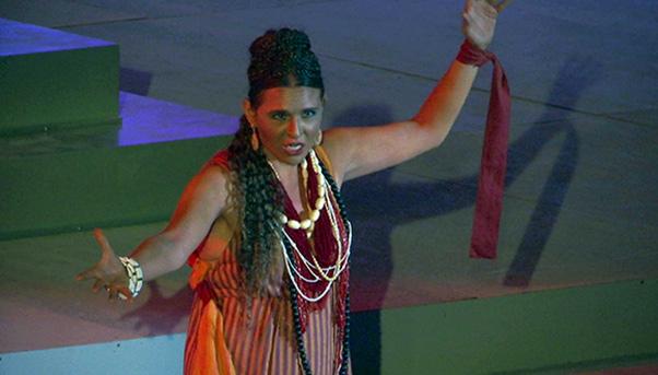 Aida al teatro antico di Taormina