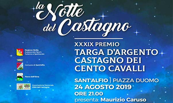 Premio Targa d'Argento a Sant'Alfio