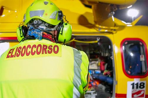 Impatto mortale auto-moto a Terrasini