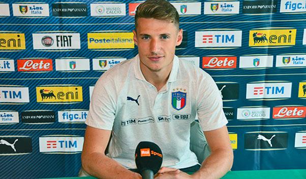 Italia-Moldavia U21, Pinamonti: 'Squadra compatta'