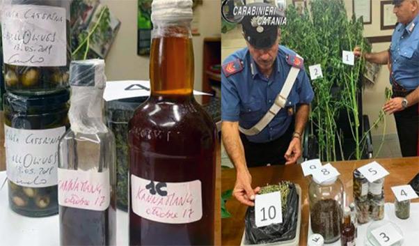Chef di Trecastagni e pietanze alla cannabis, arrestato