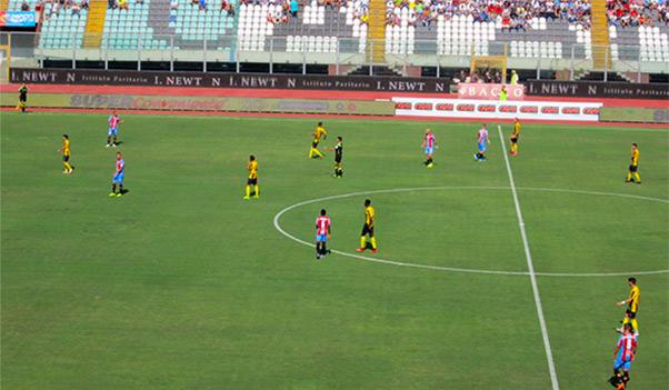 Catania-Viterbese 1-0, decide Lodi