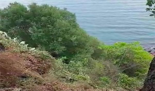 Cede parte rocciosa della Timpa