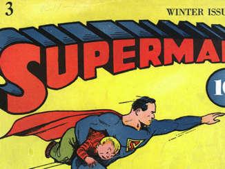 SUPERMAN-fumetto-di-Joe-Shuster-n.3-inverno-1939_1940