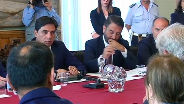 Cancelleri a Catania: «Faremo la Ct-Rg»