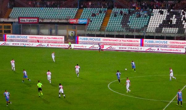 Catania-Bari 0-0, compattezza predominante