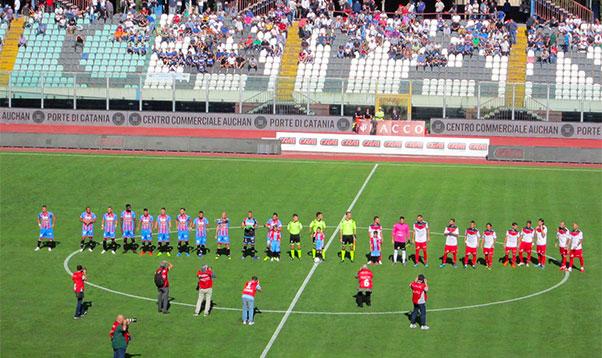 Catania-Picerno 1-0, Mazzarani conclude
