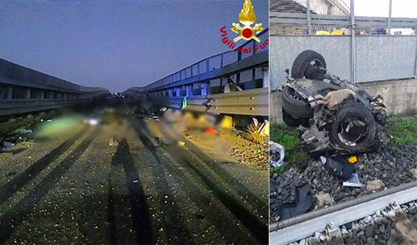 Impatto mortale a Belpasso, 4 morti