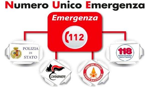 Emergenze in Sicilia, 112 numero unico