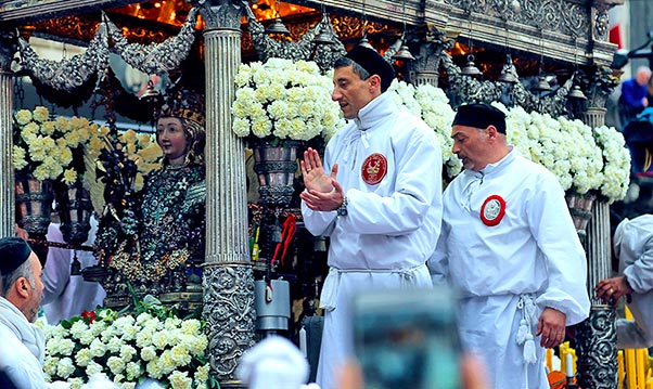 Sant'Agata, Consoli resta capo vara