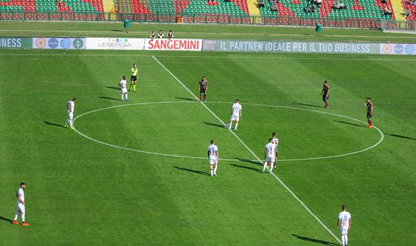 Ternana-Catania 3-2, poca incisività in trasferta