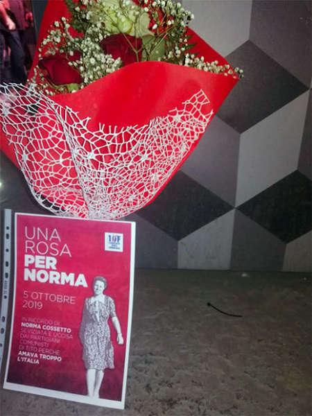 Una rosa per Norma coinvolge i cittadini