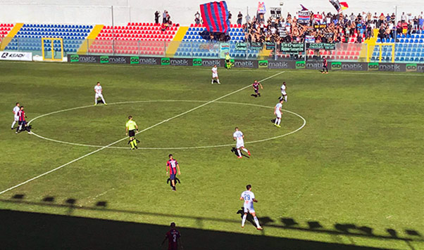 Vibonese-Catania 5-0, disfatta degli etnei