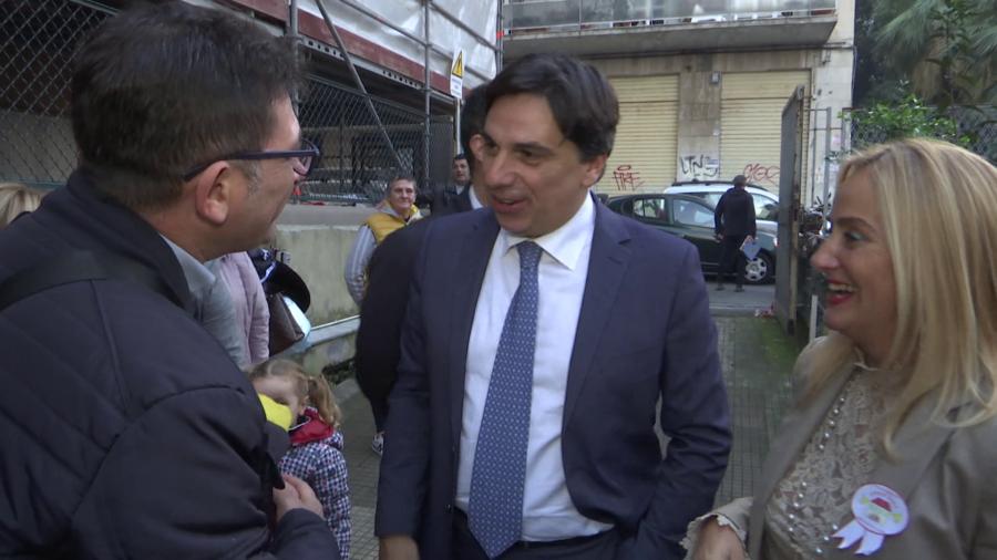 Diaz-Manzoni, Open Day con il sindaco Pogliese - interviste
