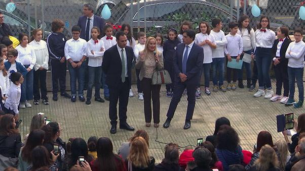 Diaz-Manzoni, Open Day sindaco Pogliese e preside vetri