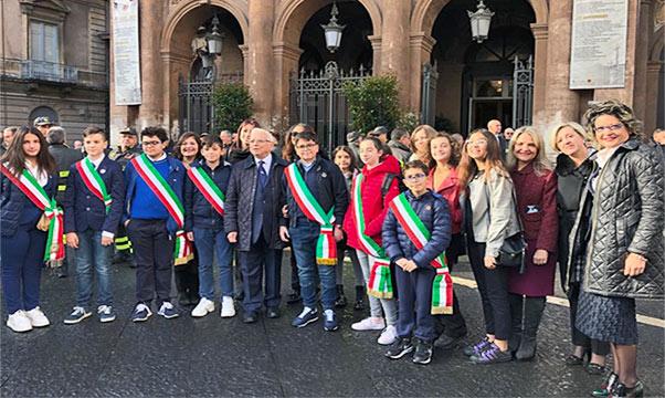 Catania, baby sindaci incontrano Mattarella
