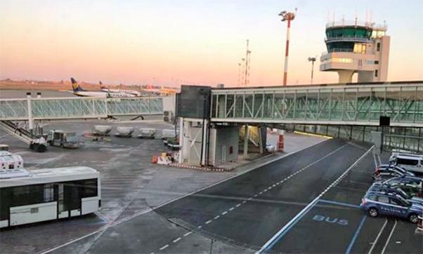 Lavori nell'aeroporto, viabilità modificata