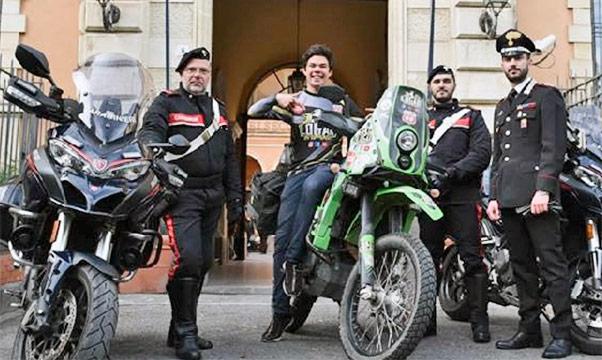 Ritrovata moto rubata a influencer messicano
