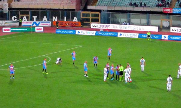 Catania-Sicula Leonzio 2-1, Di Piazza raddoppia