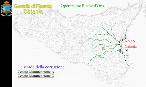 Mazzette Anas, altri arresti Catania