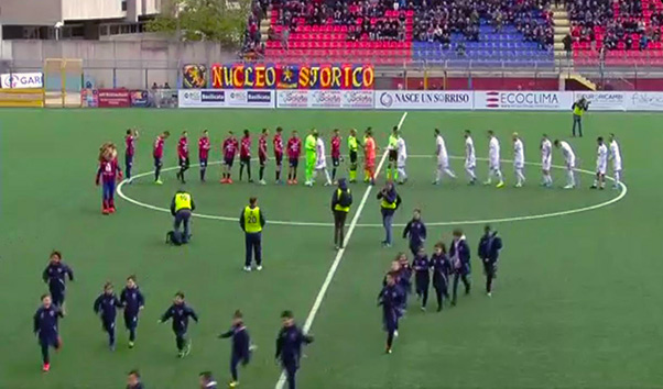 Potenza-Catania 1-2, cruciale Biondi