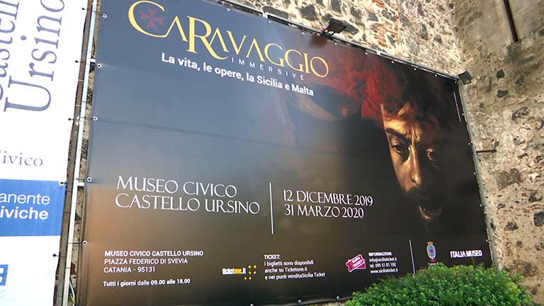 Caravaggio Immersive al Castello Ursino