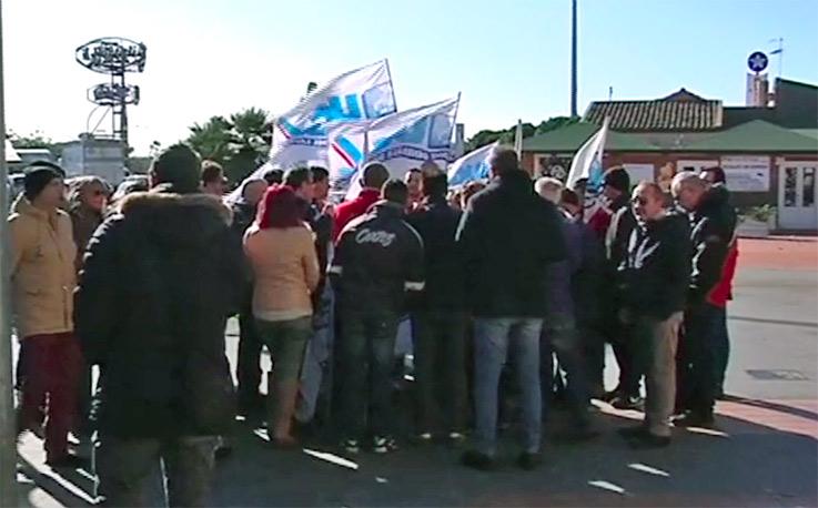 Lavoratori Coop catanesi in agitazione