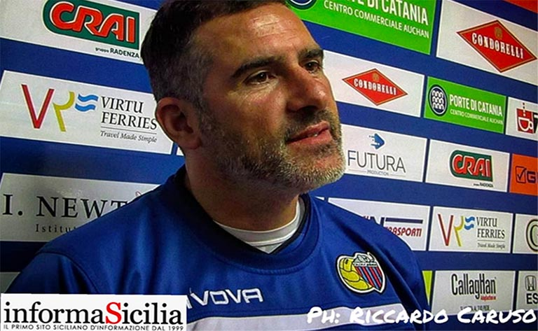 Catania-Rende, interviene Lucarelli - intervista