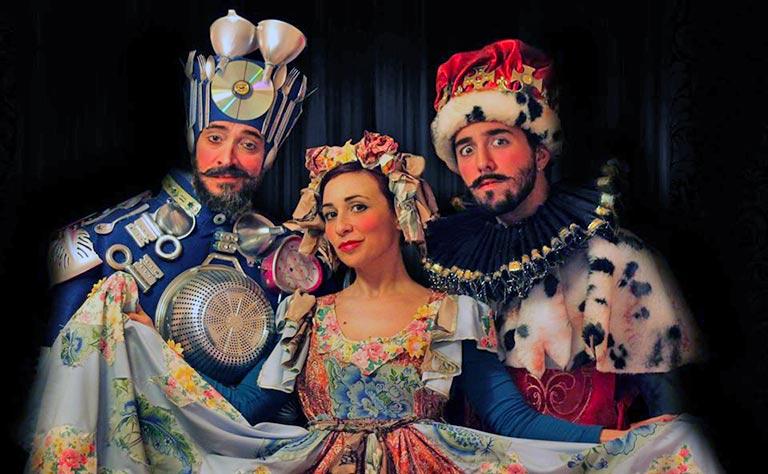 Piccolo Teatro, Nel Regno Di Re Ciclaggio