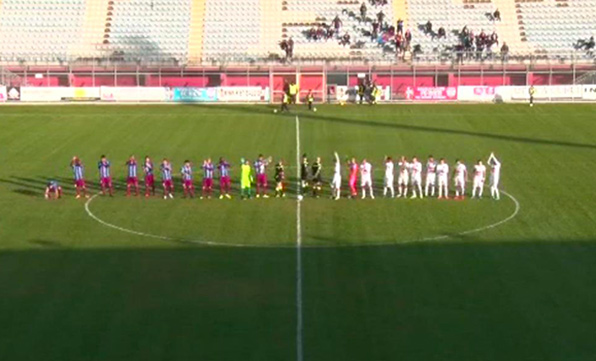 Rieti-Catania 1-4, impresa etnea fuori casa