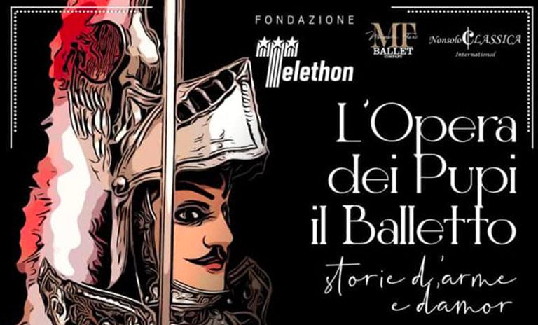 Telethon, l'opera dei pupi al Bellini