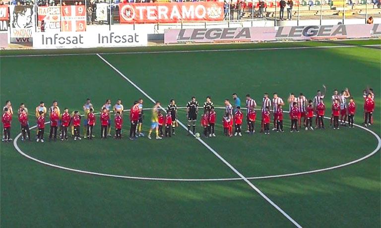 Teramo-Catania 1-1, primo pareggio esterno