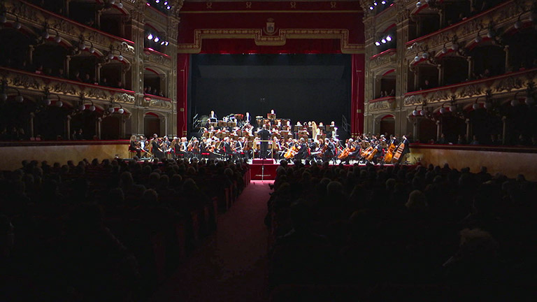 Teatro Bellini, applausi al compositore Musumeci - interviste