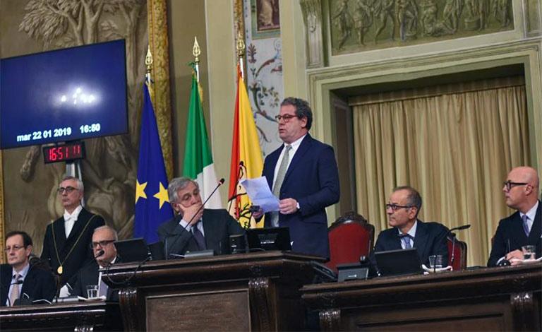 Ars, seduta solenne in ricordo di Mattarella